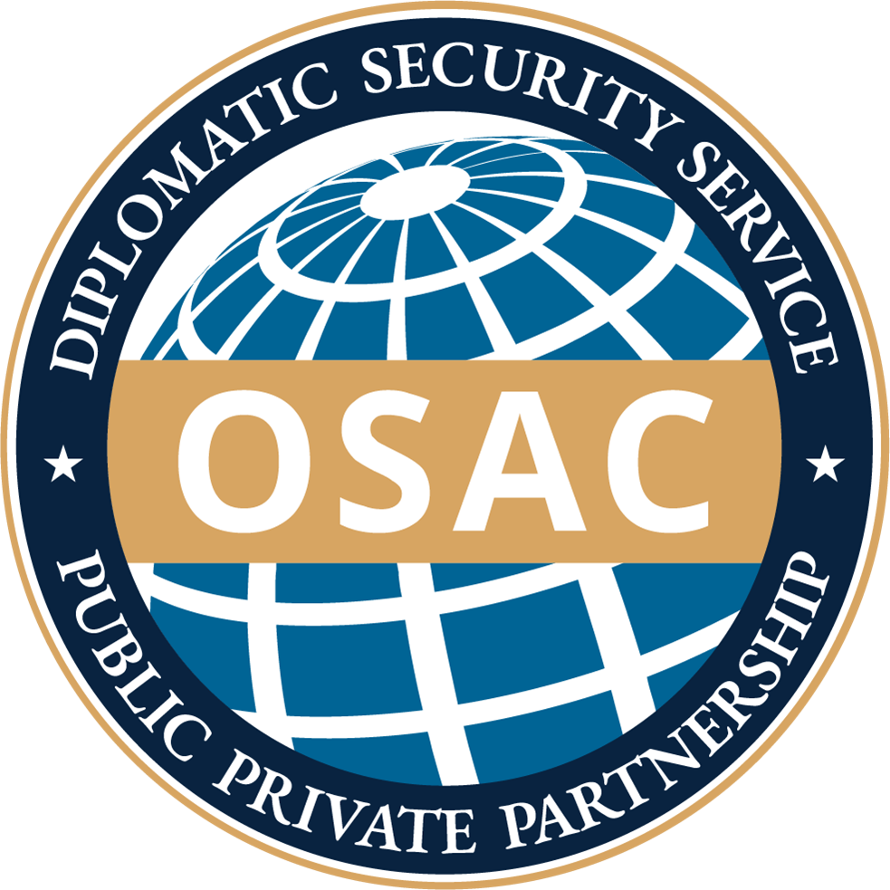 OSAC - Dipomatic Security Service - Public Private Partnership